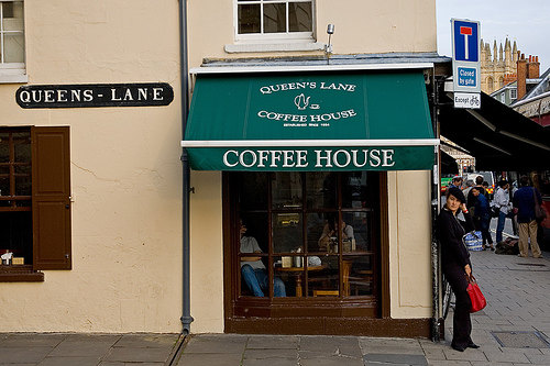 Кофейня на Куинс-Лейн (Оксфорд) - старейшая кофейня Англии