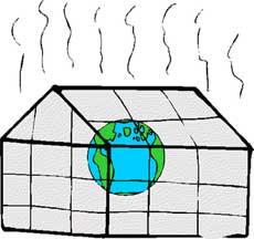 причины экологической проблемы парникового эффекта: