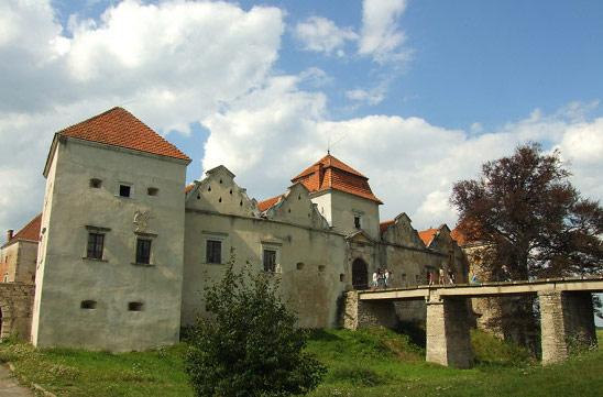 Замок Червоноград